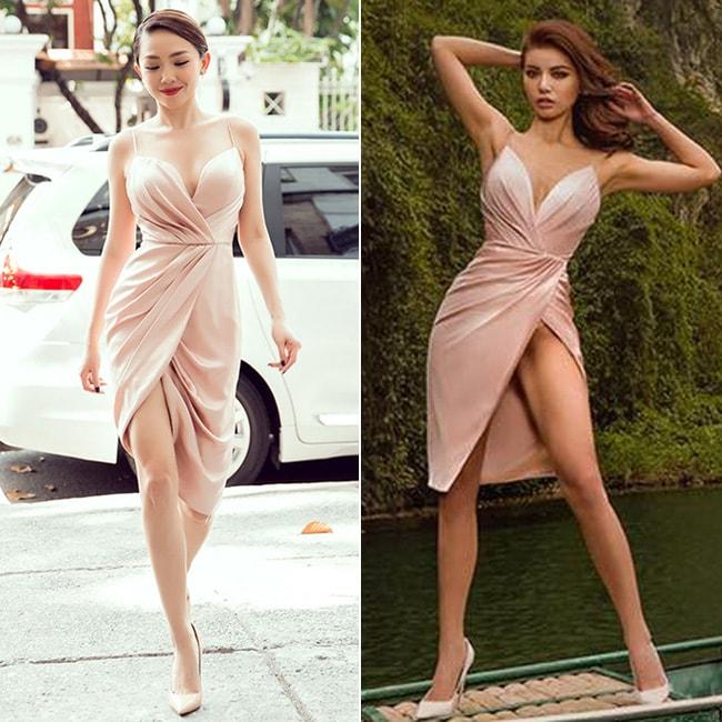 Tóc Tiên & Minh Tú bất ngờ đụng hàng, ai mặc đẹp hơn? 1