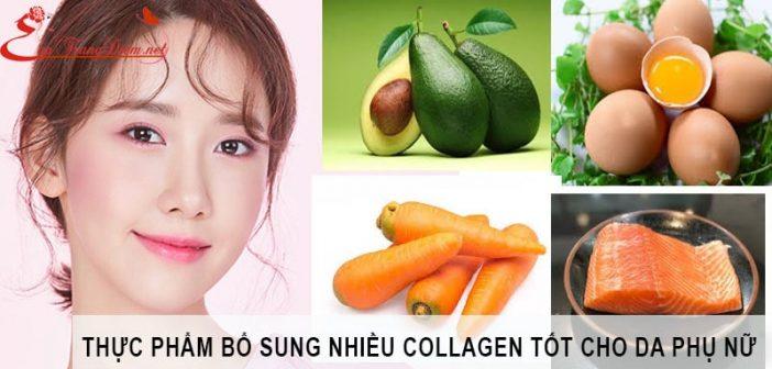 Thực phẩm giàu collagen tốt cho da phụ nữ