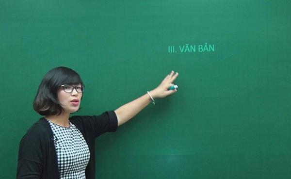 Cô Đinh Thị Thúy Hằng – giáo viên trường trung học Vinschool