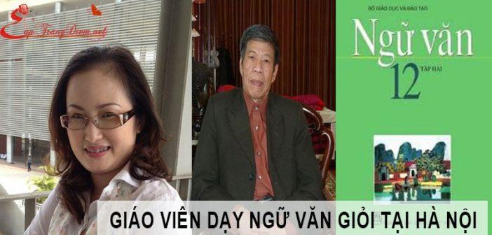 """10 Giáo viên luyện thi môn Ngữ Văn """"hot"""" nhất ở Hà Nội 1"""