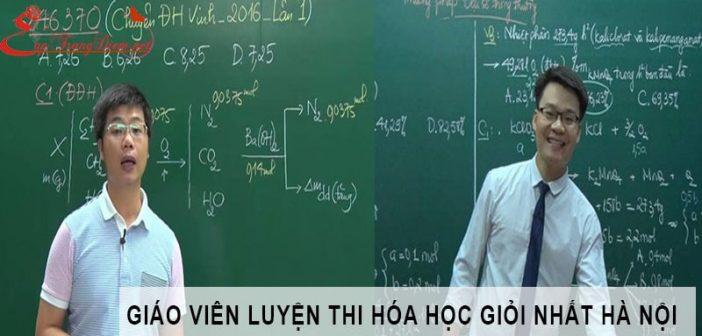 10 giáo viên luyện thi môn Hóa Học giỏi nhất ở Hà Nội 1