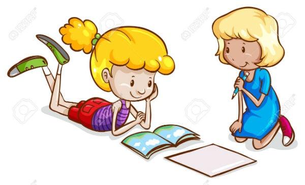 Cùng học với bạn cũng là cách hay để học tốt môn Toán