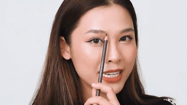 Cách kẻ lông mày cho khuôn mặt dài 3