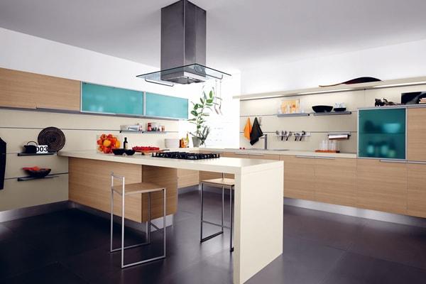 các kiểu trang trí phòng bếp 1