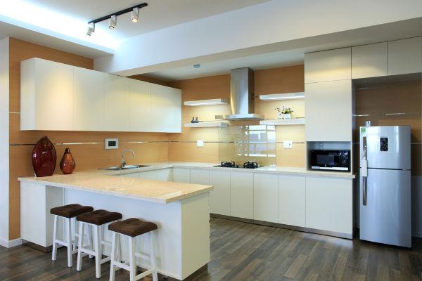 các kiểu trang trí phòng bếp 2