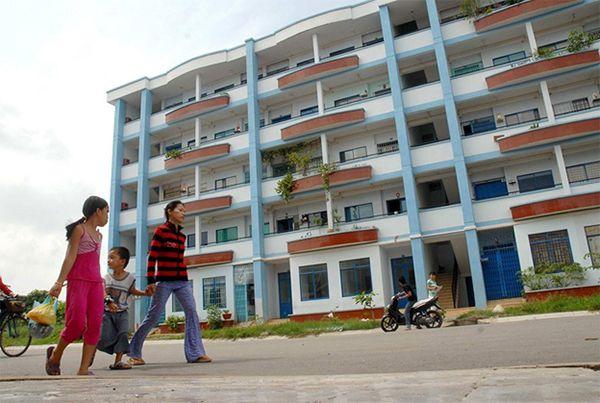Nhà ở xã hội được xây dựng cho người thu nhập thấp