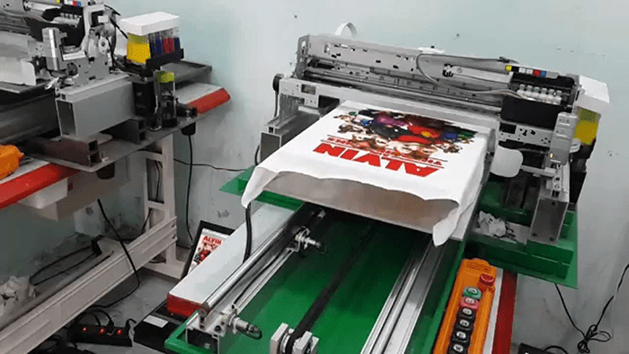 Phương pháp in kỹ thuật số trên vải