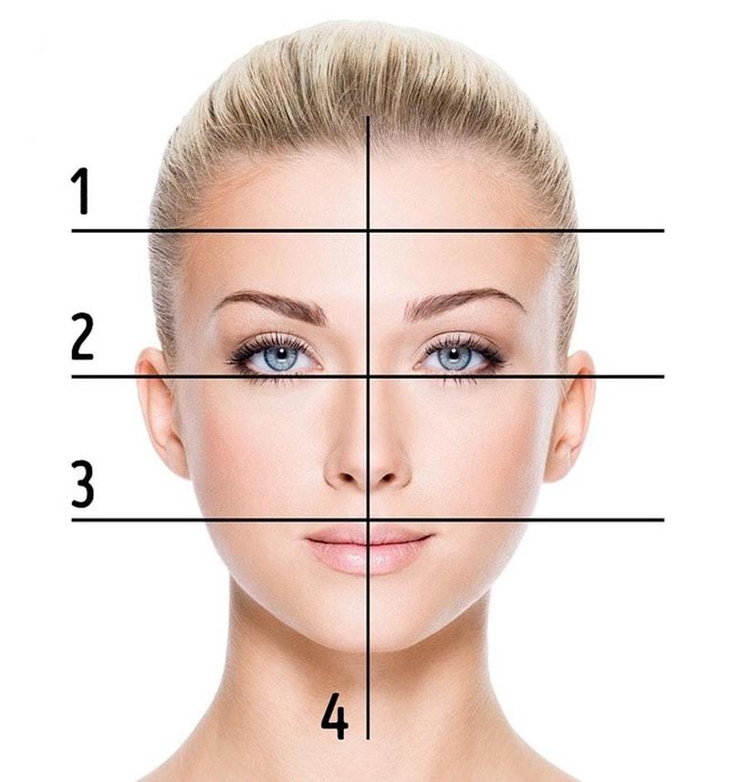 Để xác định được khuôn mặt của bạn có phải mặt vuông hay không, cần đo lường chính xác các chỉ số