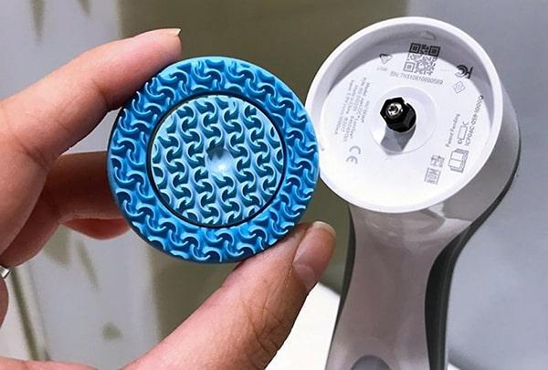 Đầu máy rửa mặt Nuskin thao tác tách rời và vệ sinh dễ dàng