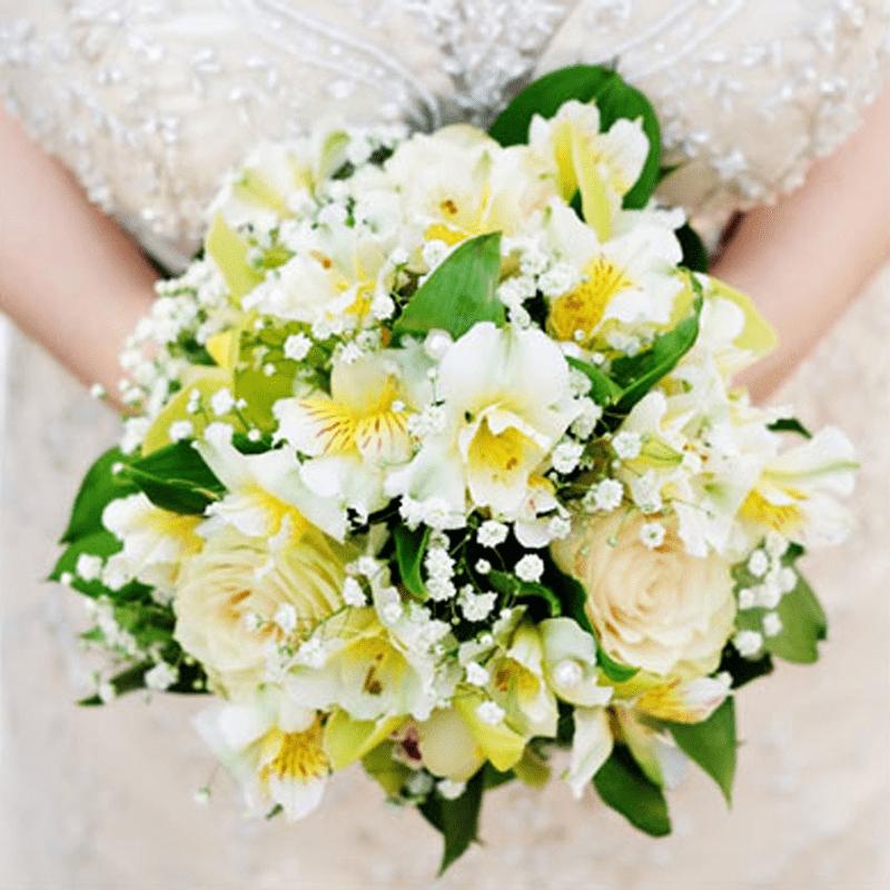 Hoa thủy tiên tượng trưng cho sự gắn bó chân thành trong ngày cưới