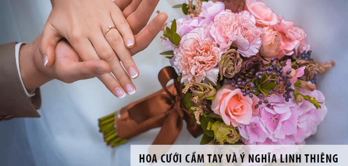 Hoa cưới cầm tay và ý nghĩa linh thiêng trong ngày trọng đại