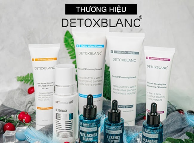 Trọn bộ mỹ phẩm Detox Blanc