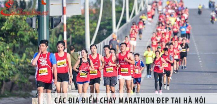 Các địa điểm chạy marathon đẹp tại Hà Nội