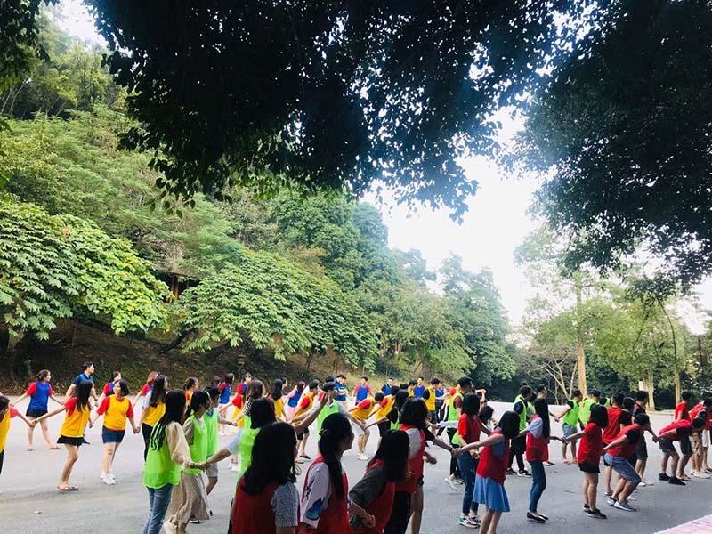 Chạy marathon tại Medi Thiên Sơn