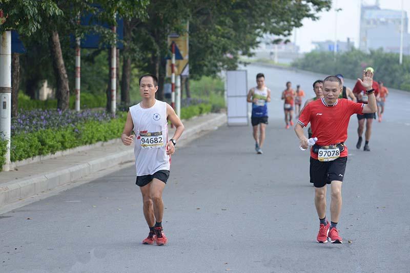 Chạy Marathon tại Công viên Thống Nhất